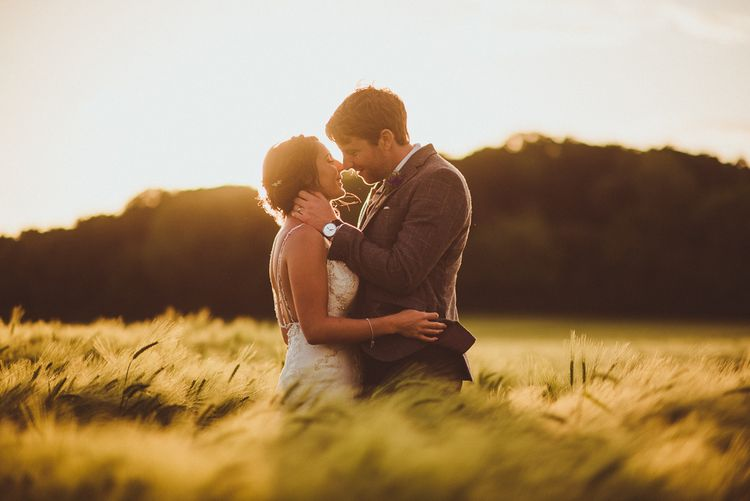 Bride & Groom | PapaKåta Tipi at Angrove Park North Yorkshire | Matt Penberthy Photography