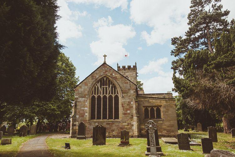 Church Wedding | PapaKåta Tipi at Angrove Park North Yorkshire | Matt Penberthy Photography