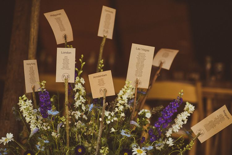 Table Plan | PapaKåta Tipi at Angrove Park North Yorkshire | Matt Penberthy Photography