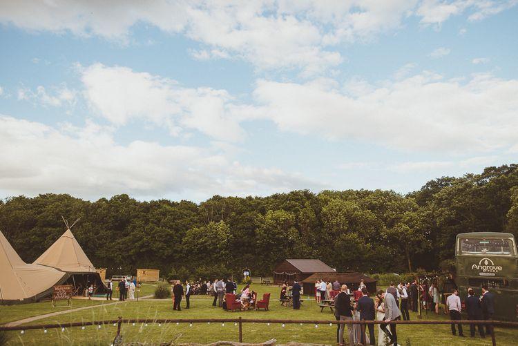 PapaKåta Tipi at Angrove Park North Yorkshire | Matt Penberthy Photography