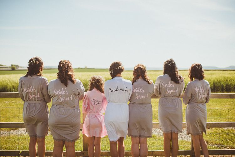 Personalised Dressing Gowns | PapaKåta Tipi at Angrove Park North Yorkshire | Matt Penberthy Photography
