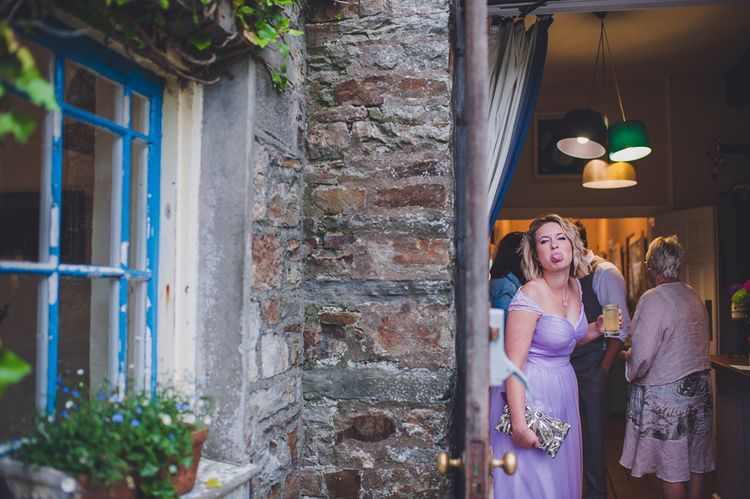 Wedding Reception At The Druidstone Pembrokeshire