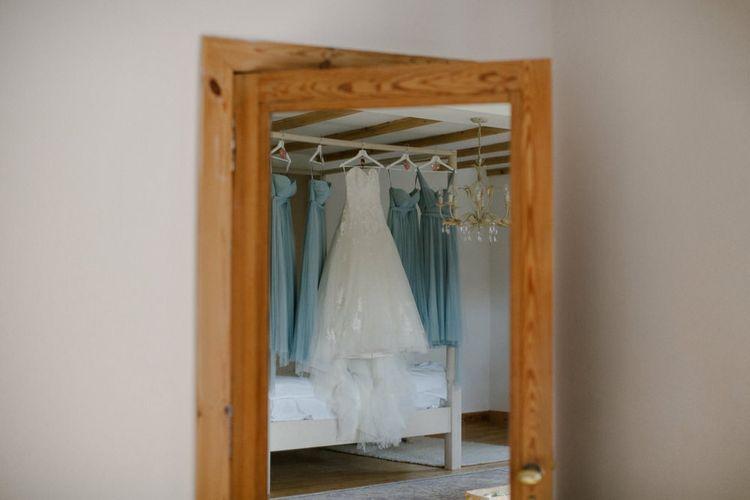 Bridal Party Dresses | Woodland Themed Wedding at Achnagairn Estate near Inverness, Scotland | Zoe Alexander Photography