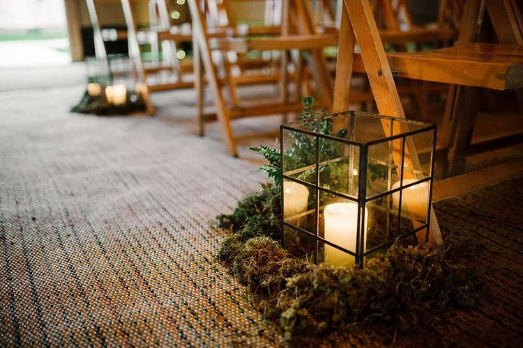 Greenery Wedding Decor | Tipi by All About Me Marquees | Boho Winter Tipi Wedding Inspiration | Styling & Concept by Pretty Creative | Amy Faith Photography