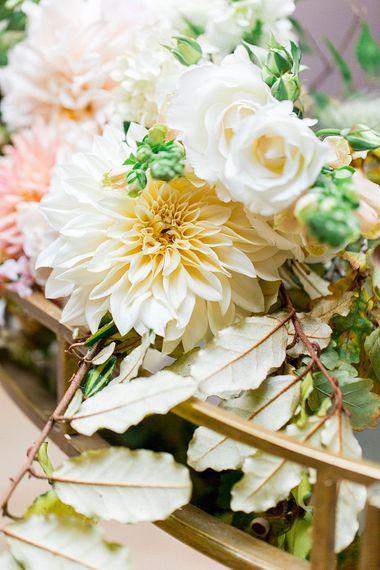 Floribunda Rose Wedding Flowers | Botanical Boho Luxe Inspiration | Philippa Sian Photography