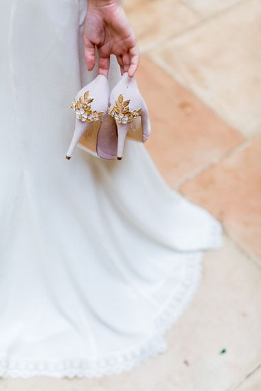 Harriet Wilde Shoes | Botanical Boho Luxe Inspiration | Philippa Sian Photography