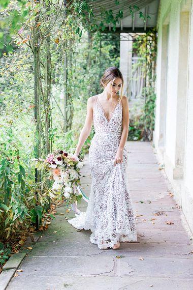 Bride | Botanical Boho Luxe Inspiration | Philippa Sian Photography