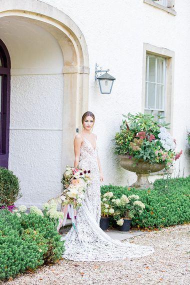 Boho Bride | Botanical Boho Luxe Inspiration | Philippa Sian Photography