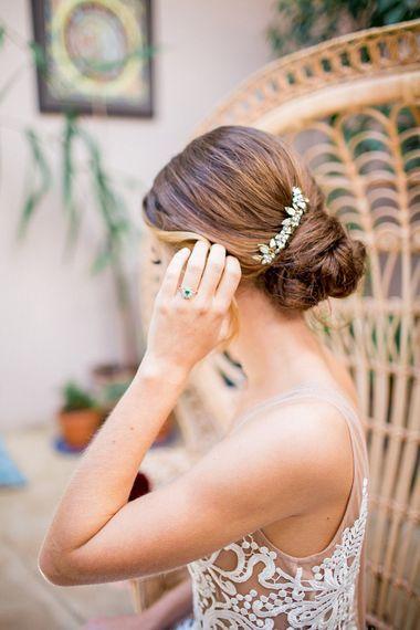 Wedding Hair | Botanical Boho Luxe Inspiration | Philippa Sian Photography