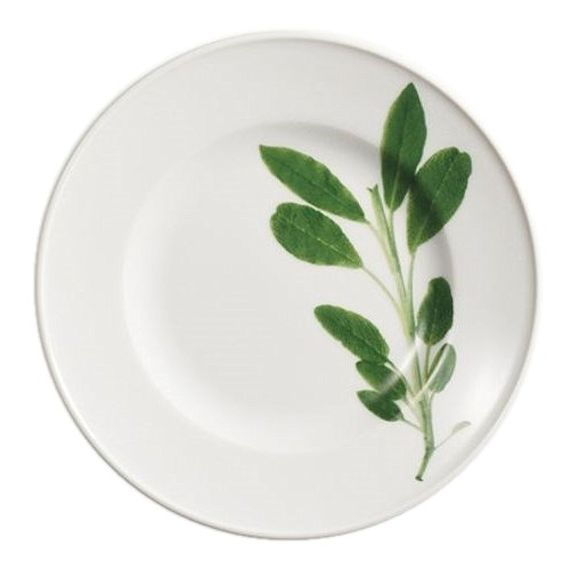 Illustrated Plant Plate at The wedding Shop