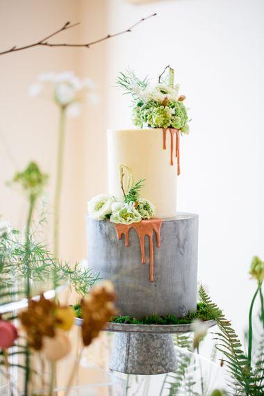 Drip Icing Wedding Cake