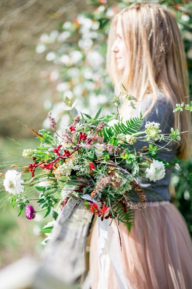 Oversized Colourful Wedding Bouquet By Hannah Berry Flowers