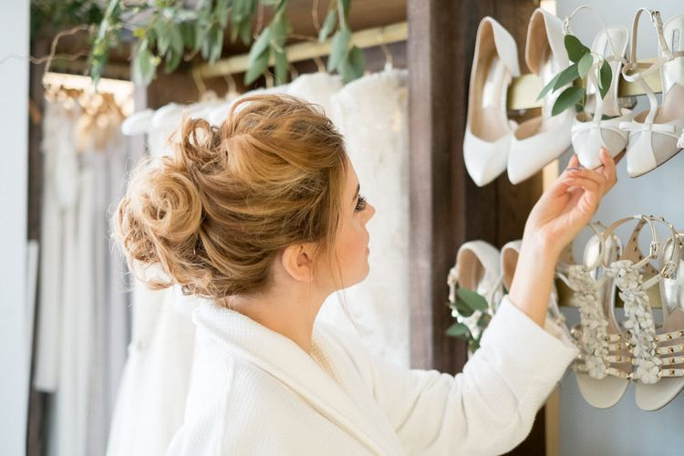 Choosing Bridal Shoes at Frances Day Bridal