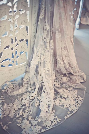 Fabrics and Detailing at Ghost Orchid Bride