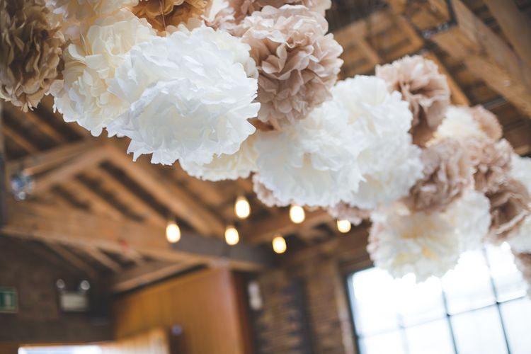 Brown & White Pom Noms   Kirsty Mackenzie Photography   Insta Wedding Films