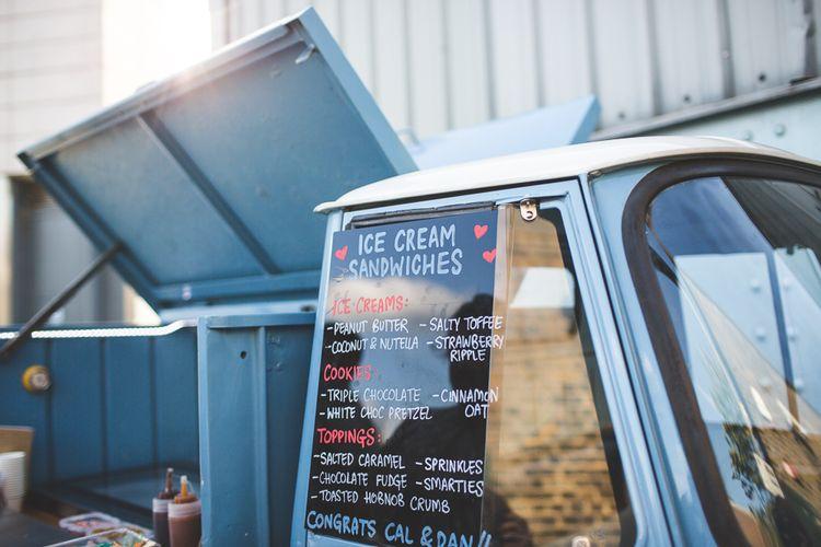 Milo & Hector's Ice Cream Truck   Kirsty Mackenzie Photography   Insta Wedding Films