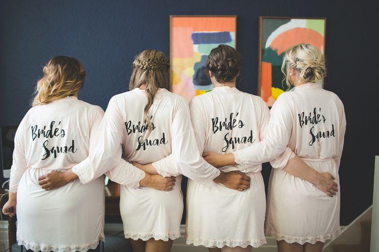 Bridesmaid Getting Ready Robes   Kirsty Mackenzie Photography   Insta Wedding Films