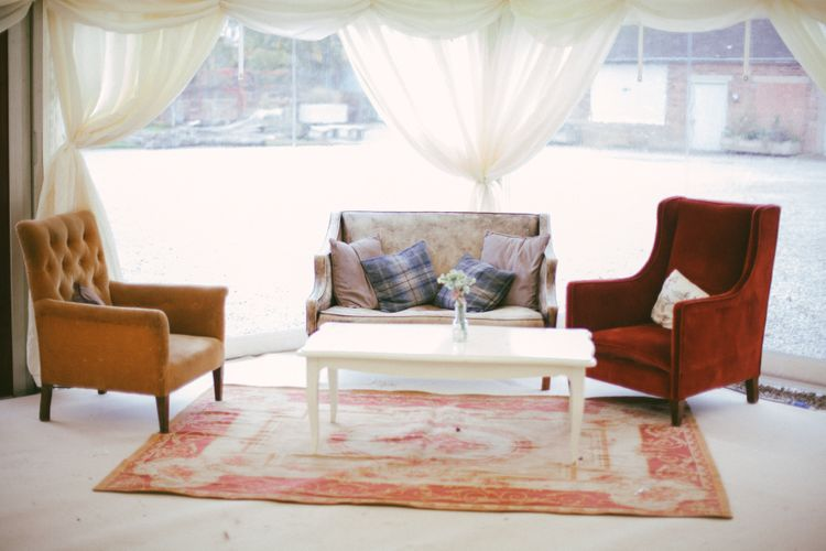 Seating Area At Wedding