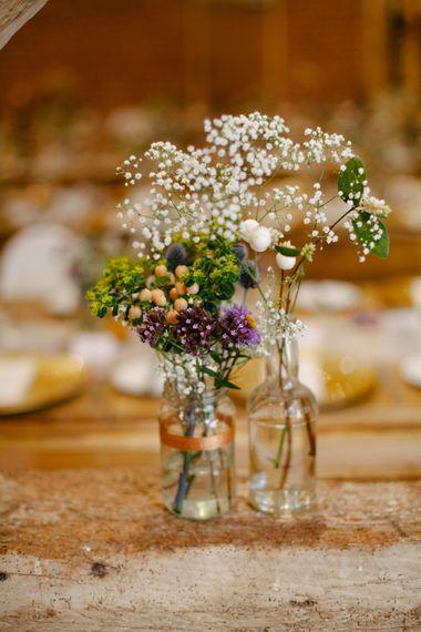 Wild Flower Wedding Decor