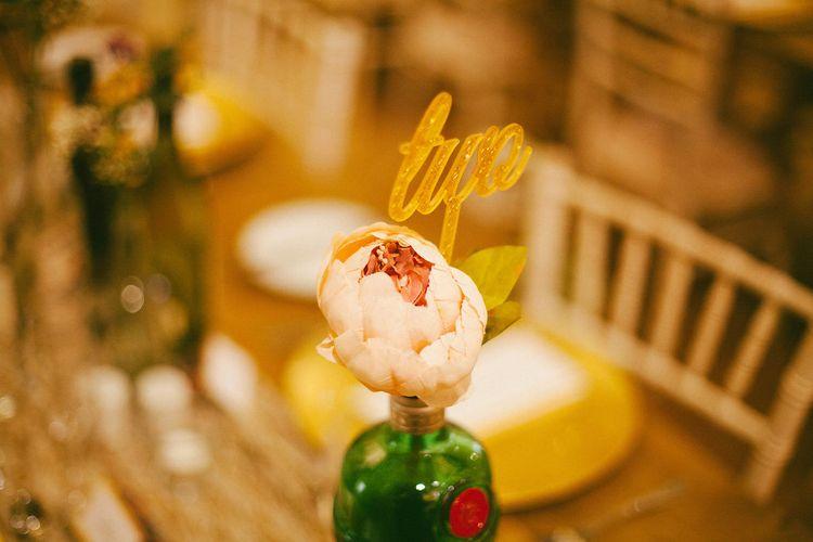Gin Inspired Wedding Decor