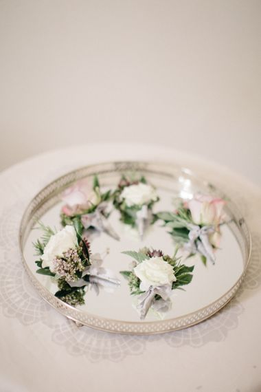 Elegant Buttonholes For Wedding