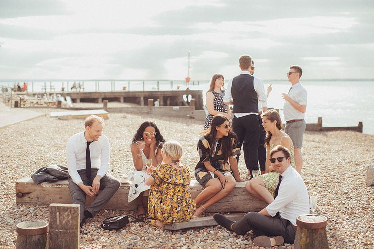 Bright Coastal Wedding at East Quay Venue in Whitstable | Deborah Grace Photography