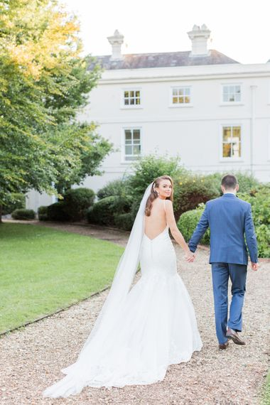 Sophisticated vintage glamour at Morden Hall with Bride in Morilee by Madeline Gardner and Images by Bowtie & Belle