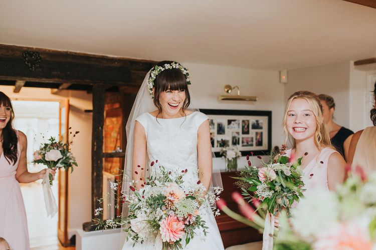 Beautiful Wedding Bouquet With British Flowers by Green and Gorgeous