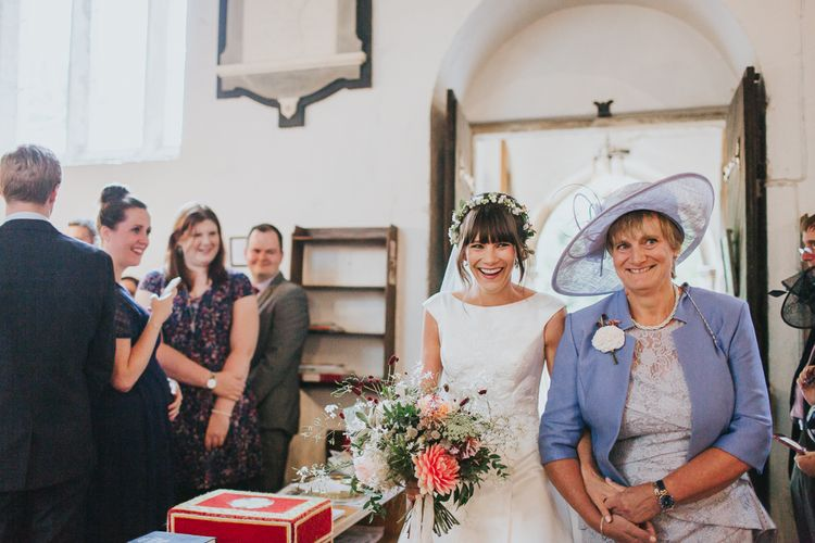 Walking Down The Aisle With Mum