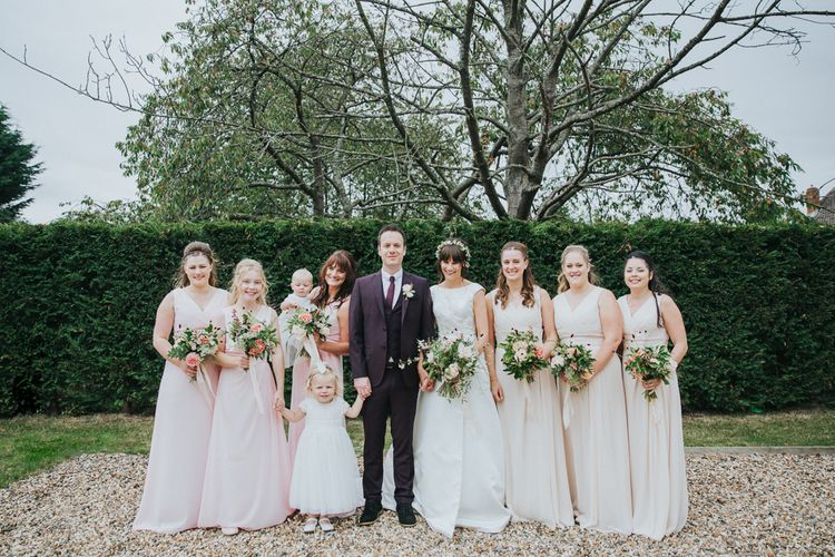 Wedding Party in Pastels