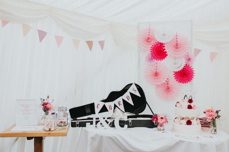 Rustic & Colourful Wedding Decor