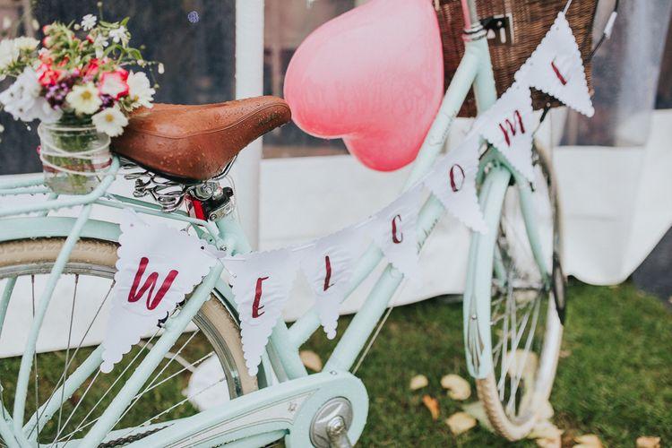 Wedding Bicycle Decor