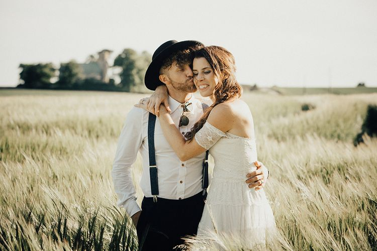 Carly Rowena Fitness & Lifestyle Vlogger Marries Trainer Husband Leon Wearing Grace Loves Lace For A Surprise Wedding At Fishley Hall With Food Trucks