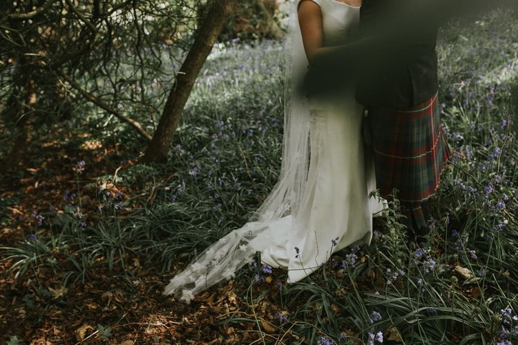 Bride In Suzanne Neville For A Rustic Wedding At The Byre Of Inchyra Scotland With Images From Maureen Du Preez