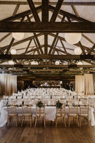 Rustic Wedding at Barn at Barr Castle, Scotland | Caitlin + Jones Photography & Film
