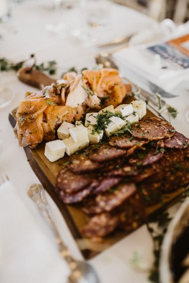 Wedding Catering | Rustic Wedding at Barn at Barr Castle, Scotland | Caitlin + Jones Photography & Film