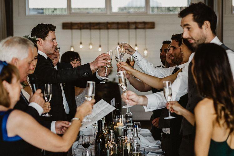 Wedding Guests | Rustic Wedding at Barn at Barr Castle, Scotland | Caitlin + Jones Photography & Film