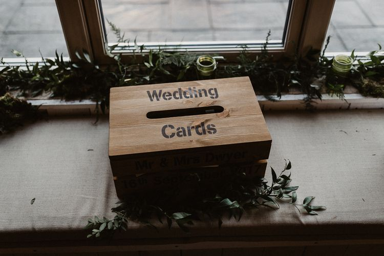 Wedding Card Box | Rustic Wedding at Barn at Barr Castle, Scotland | Caitlin + Jones Photography & Film