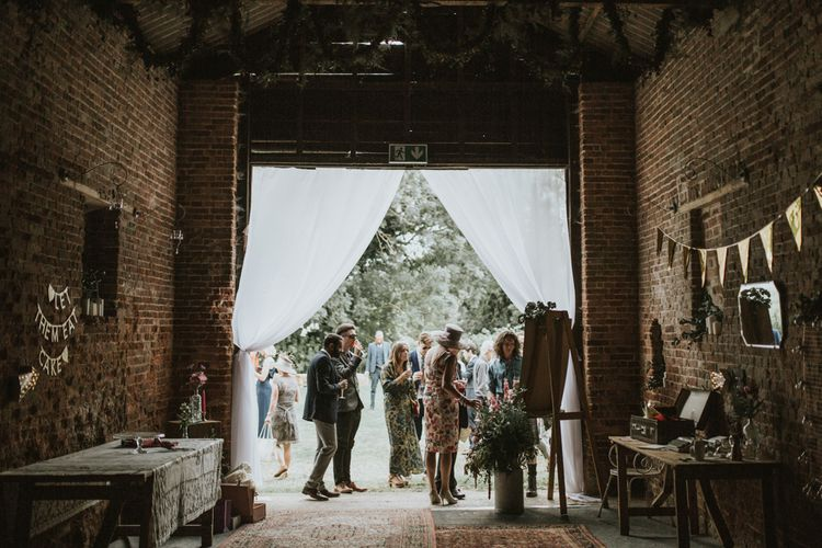 Fishley Hall Rustic Barn Wedding | Darina Stoda Photography