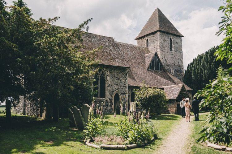 Church Wedding Near Preston Court