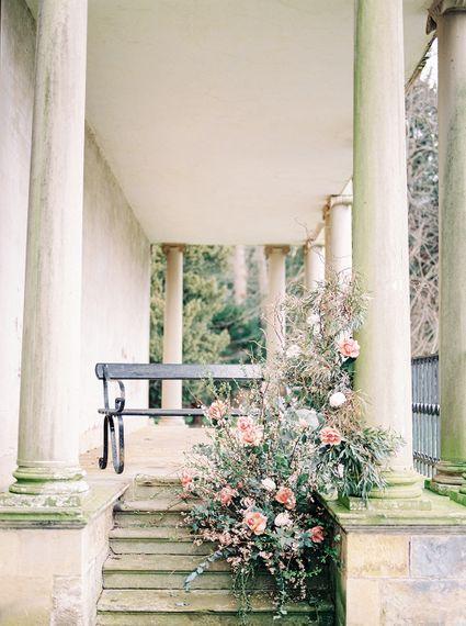 Floral Installation by Gatherer Floral Design