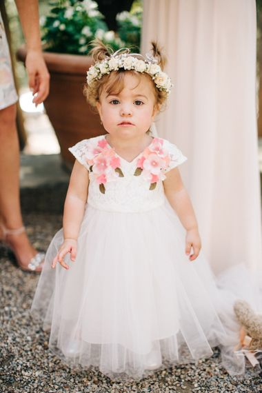 Flower Girl in Monsoon Dress