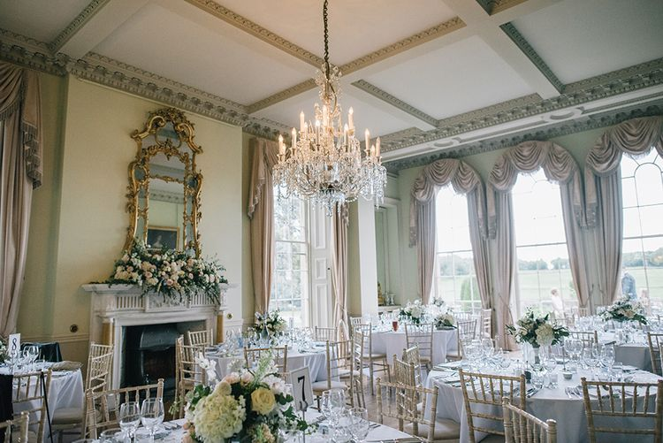 Classic Blue & White Wedding at Prestwold Hall in Loughborough | Georgina Harrison Photography