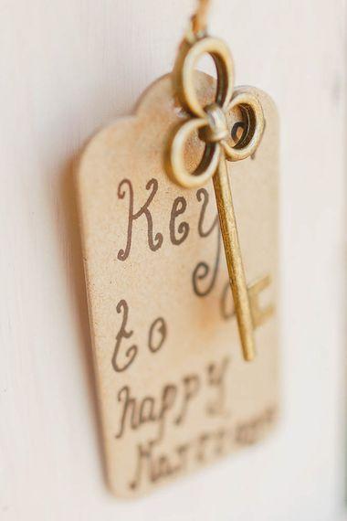 Key To Happiness Wedding Decor