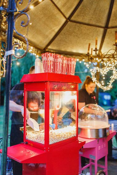 Popcorn and Candy Cart