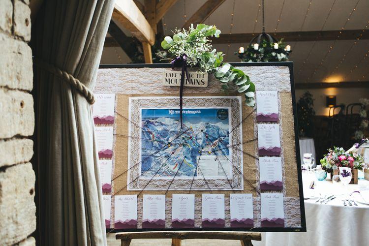 Ski Resort Table Plan