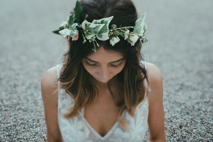 Ivy & Berries Laurel Flower Crown