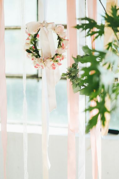 Floral Hoops   Pastel Wedding at Tommy Vitello, Italy   Planning & Styling by Agnese Sogna Sempre   Matrimoni all'Italiana Photography   Amu Wedding Videos