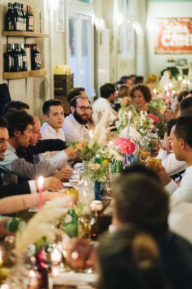 Wedding Reception   Pastel Wedding at Tommy Vitello, Italy   Planning & Styling by Agnese Sogna Sempre   Matrimoni all'Italiana Photography   Amu Wedding Videos