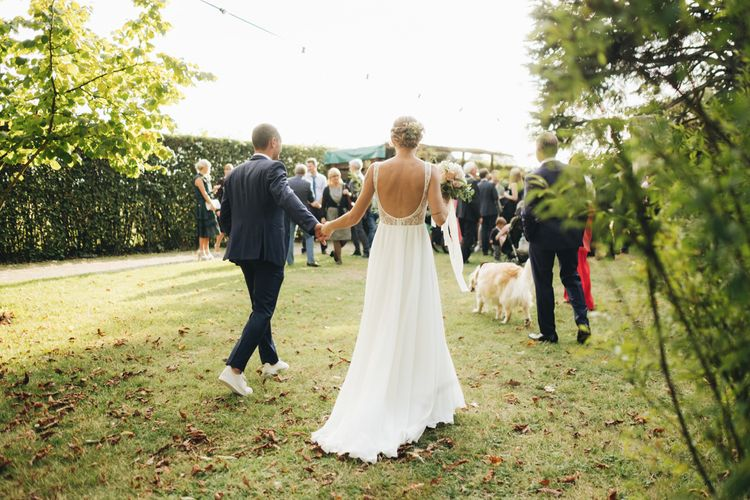 Bride in Nadia Manzato Gown & Groom in Suit & Bow Tie   Pastel Wedding at Tommy Vitello, Italy   Planning & Styling by Agnese Sogna Sempre   Matrimoni all'Italiana Photography   Amu Wedding Videos